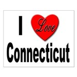 I Love Connecticut Small Poster