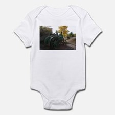 Cool Green tractor Infant Bodysuit