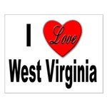 I Love West Virginia Small Poster