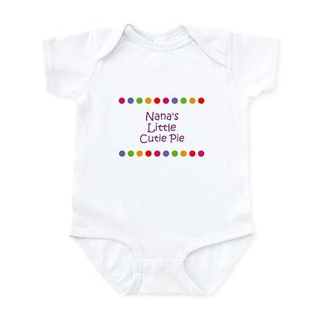 Nana's Little Cutie Pie Infant Bodysuit