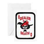 Dealer of Death Greeting Card