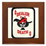 Dealer of Death Framed Tile