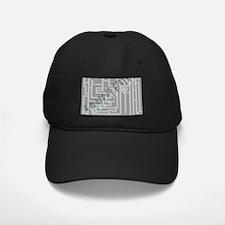 A Maze in Grays Baseball Hat