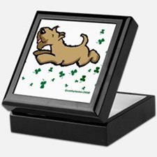 SCWT shamrock Jump Keepsake Box
