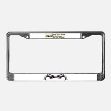 Draw Your Guns License Plate Frame