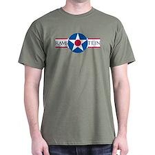 Ramstein Air Base Military Green T-Shirt