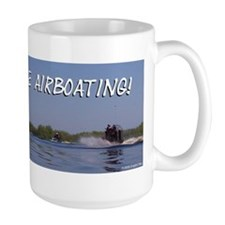 I'd rather be airboating! Mug