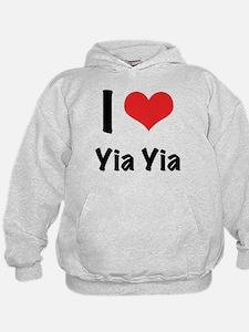 I 'heart' Yia Yia Hoodie