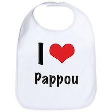 """I """"heart"""" Pappou Bib"""