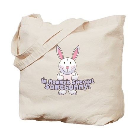 Mommy's Somebunny Boy Tote Bag