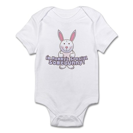 Mommy's Somebunny Boy Infant Bodysuit