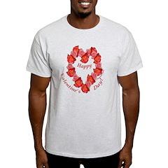 Rose Wreath, Valentine T-Shirt