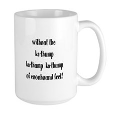 Coonhound Feet Mug
