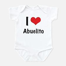 """I """"heart"""" Abuelito Infant Bodysuit"""