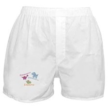 Grandma, Grandpa & Ellaosauru Boxer Shorts