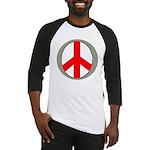 International Peace Symbol Baseball Jersey