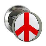 International Peace Symbol Button