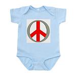 International Peace Symbol Infant Creeper