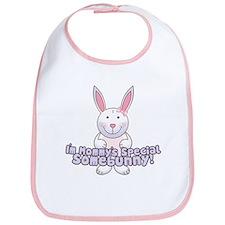 Mommy's Somebunny Girl Bib