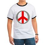 International Peace Symbol Ringer T