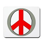 International Peace Symbol Mousepad