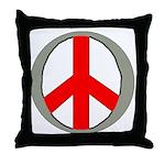 International Peace Symbol Throw Pillow