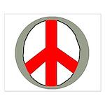 International Peace Symbol Small Poster