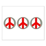 Internation Three Peace Symbol Small Poster