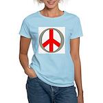 International Peace Symbol Women's Pink T-Shirt