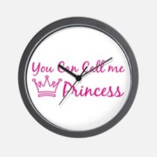 You can call me princess Wall Clock