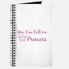 You can call me princess Journal