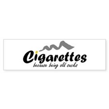 Cigarettes Bumper Bumper Sticker