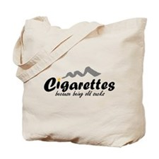 Cigarettes Tote Bag