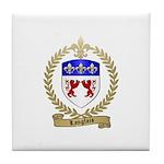 LANGLAIS Family Crest Tile Coaster