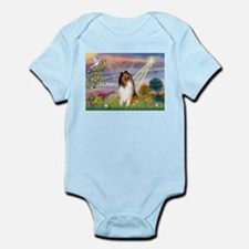 Cloud Angel & Collie Infant Bodysuit