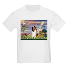 Cloud Angel & Collie T-Shirt