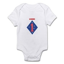 FIRST MARINE DIVISION - SOMALIA Infant Bodysuit