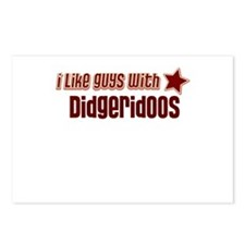 I like guys with Didgeridoos Postcards (Package of