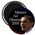 Miners for Obama 2008 Magnet