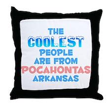 Coolest: Pocahontas, AR Throw Pillow