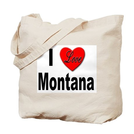 I Love Montana Tote Bag