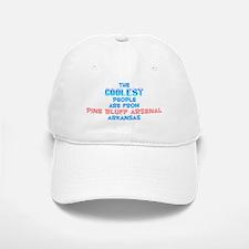 Coolest: Pine Bluff Ars, AR Baseball Baseball Cap