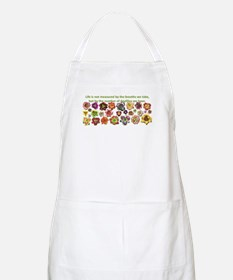 Number of daylilies BBQ Apron
