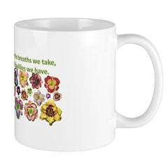 Number of daylilies Mug