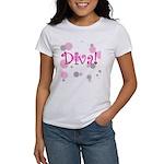 Diva Bubbles Women's T-Shirt