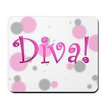 Diva Bubbles Mousepad