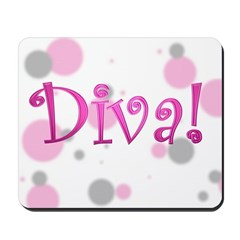 Diva Bubbles Mousepad