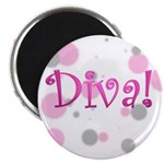Diva Bubbles Magnet