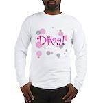 Diva Bubbles Long Sleeve T-Shirt