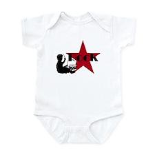 Drummer Rock Star Infant Bodysuit